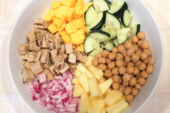 Tropical Chickpea-Quinoa Salad
